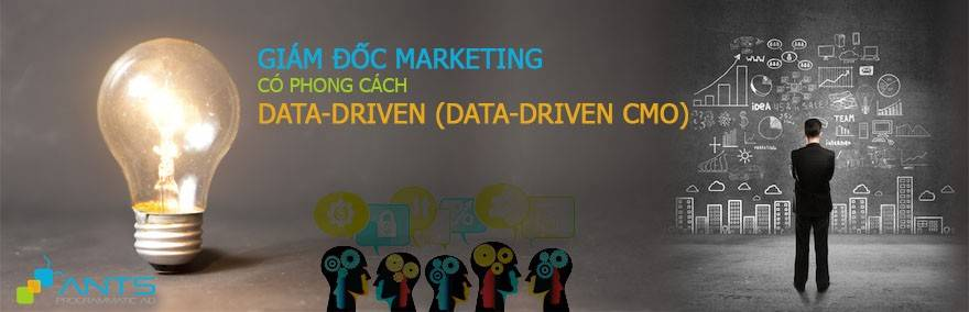 Chân dung giám đốc marketing có phong cách Data-Driven (Data-Driven CMO)