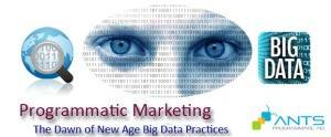 ANTS - Programmatic ad and big data trends 2015