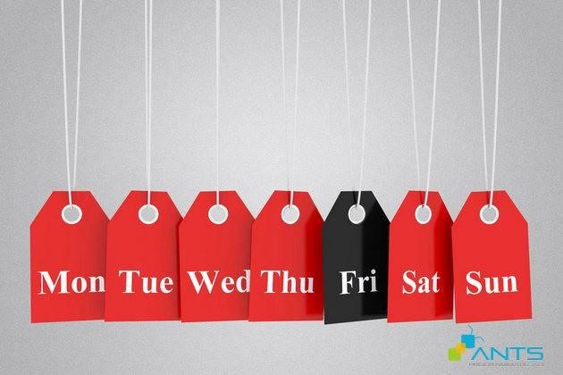 Tiếp thị Black Friday đúng lúc