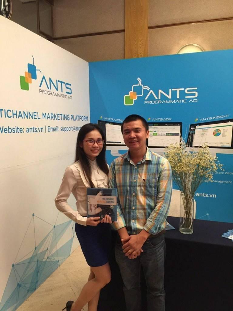 Gian hàng Công nghệ ANTS tại Hội thảo FPT Techday 2016
