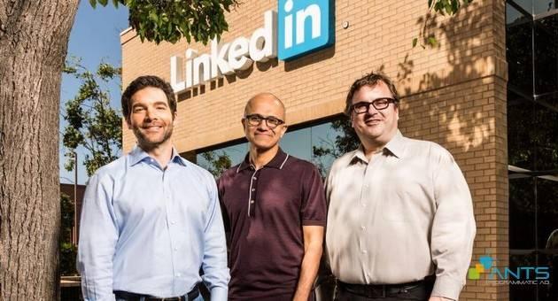 """Linkedln """"Hồi Sinh"""" Microsoft Nhờ Mạng Lưới Kết Nối Và Dữ Liệu B2B Trị Giá 26,2 Tỷ $"""